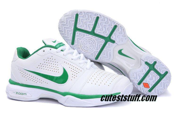 Nike Zoom Vapor 8 Club Roger Federer Nike Tennis 431842 102 White Green Nike Tennis Shoes Nike Shoes Cheap Mens Tennis Shoes