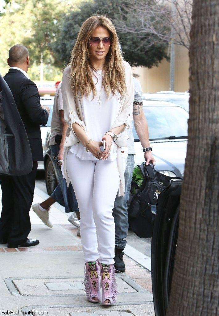 Jennifer Lopez Spring Street Style In Peaceloveworld