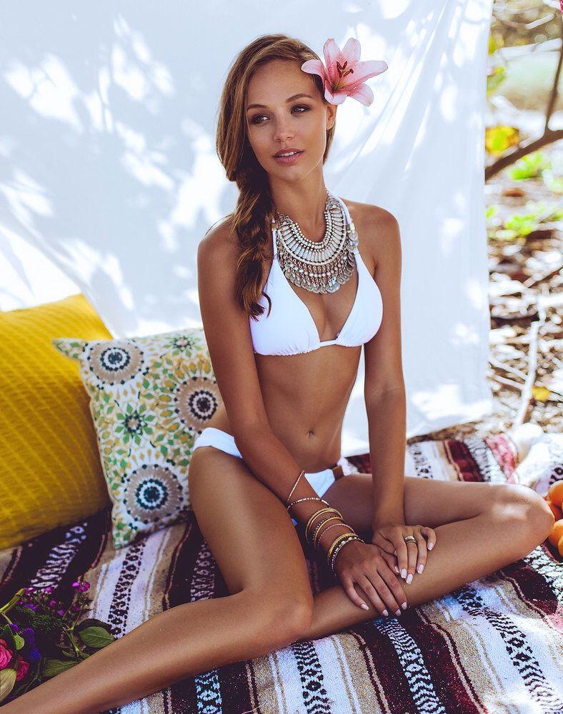Und der goldene Bikini