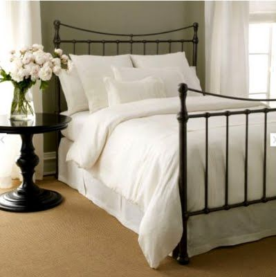 The Clean Simple Lines Of This Ethan Allen Iron Bed Would Be Perfect For My