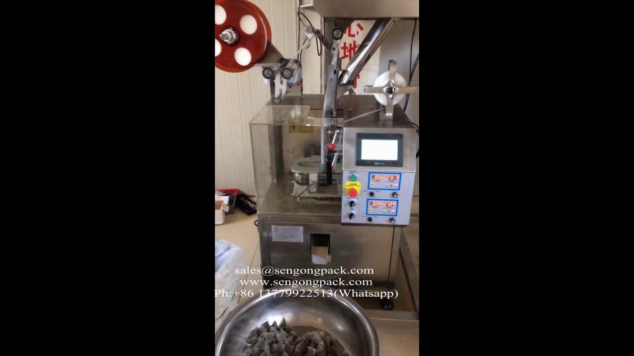 C20 pyramid coffee filling machine for sale pyramids