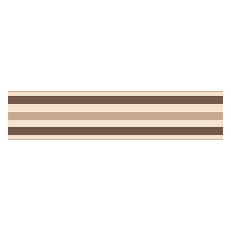 Fun4walls Stripe Peel And Stick Wall Border Set Of 2 Brown Tfdb50023 Listras Of Wallpaper Parede