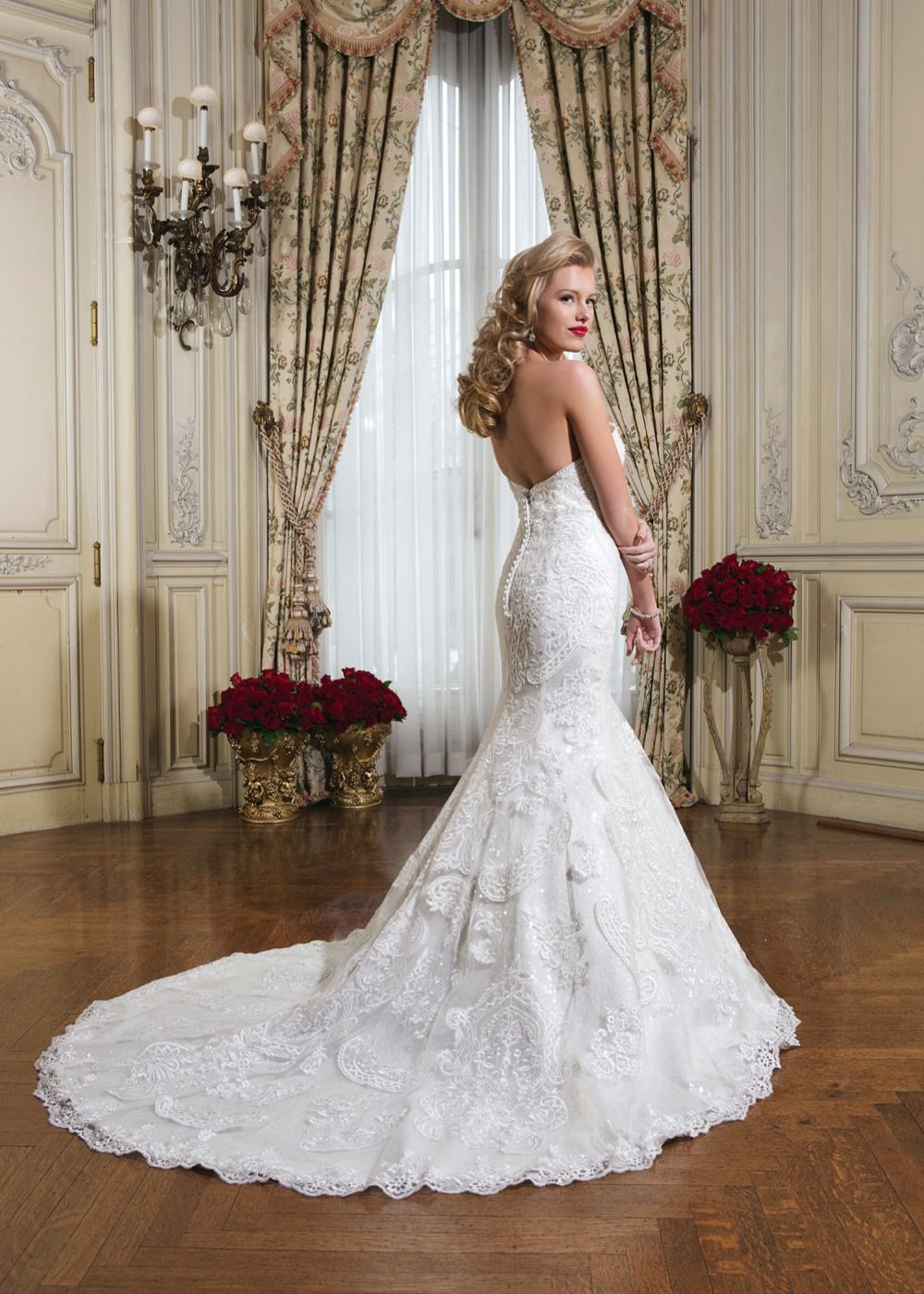 6 Gorgeous Fishtail Wedding Dresses Inspired By Michelle Keegan