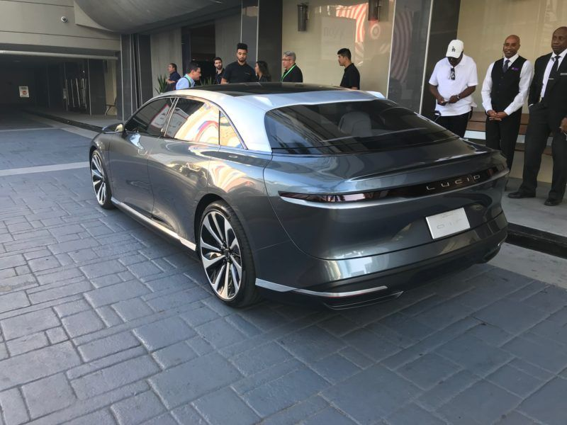 Lucid Electric vehicle