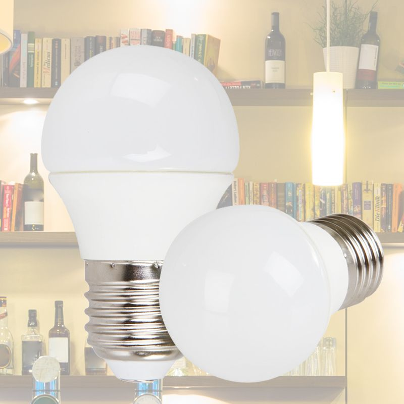 9W LED Bulb,Neutral White Non-Dimmable