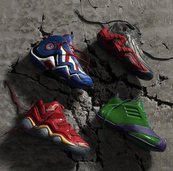 Orden alfabetico Supervisar Comunista  Adidas diseña tenis inspirados en los superhéroes de Avengers   Zapatillas  de baloncesto adidas, Zapatillas de baloncesto, Zapatos para niñas