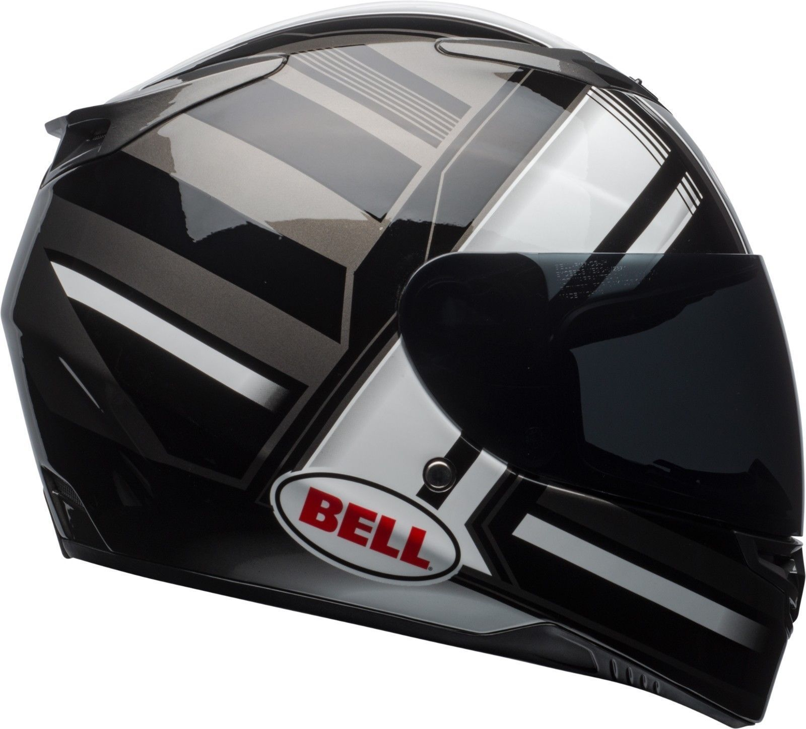 Bell RS-2 Full Face Motorcycle Helmet with InternalSun Visor Eye Wear Friendly