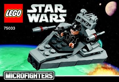 Star Wars Microfighters Star Destroyer Lego 75033 Lego Sets Of
