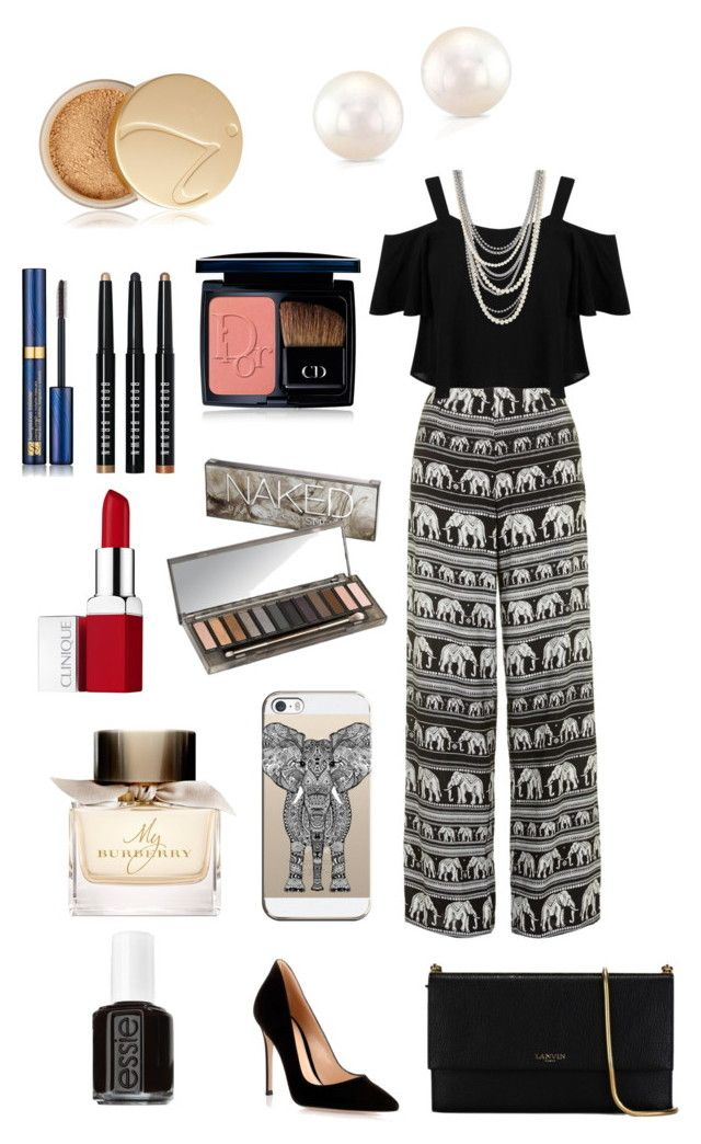 """Elephant ❤️"" by isaahhoran ❤ liked on Polyvore featuring Motel, Miss Selfridge, Henri Bendel, Gianvito Rossi, Lanvin, Jane Iredale, Christian Dior, Estée Lauder, Bobbi Brown Cosmetics and Urban Decay"