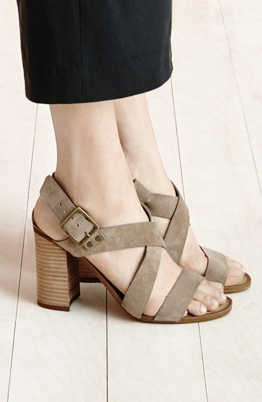 Franco Sarto 'Sabine' Block Heel Sandal (Women)