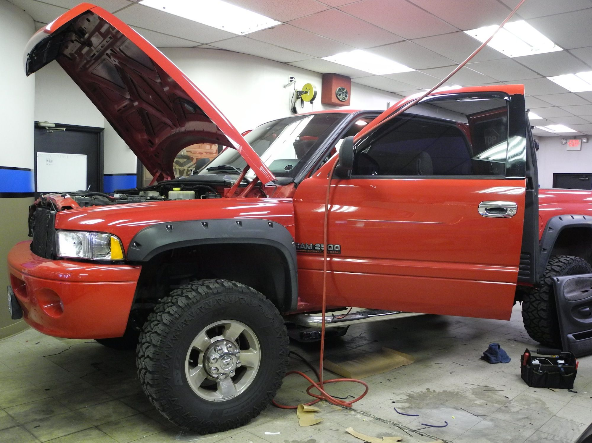We re giving this Dodge Ram 2500 a big audio upgrade with a Linear