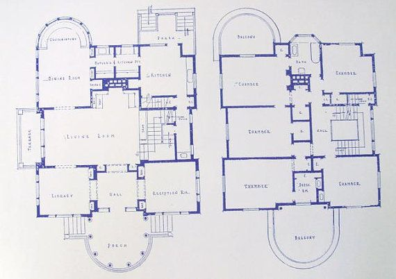 George Blossom House Building Blueprints 4858 S Kenwood Ave - fresh blueprint architects cape town