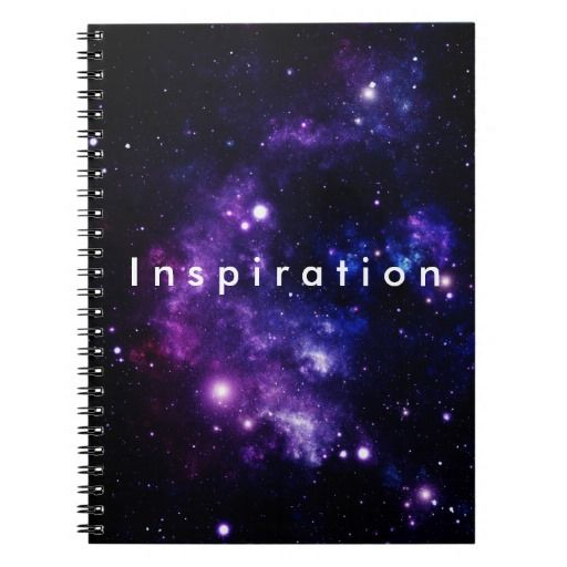 Inspiration Notebook For Teens.
