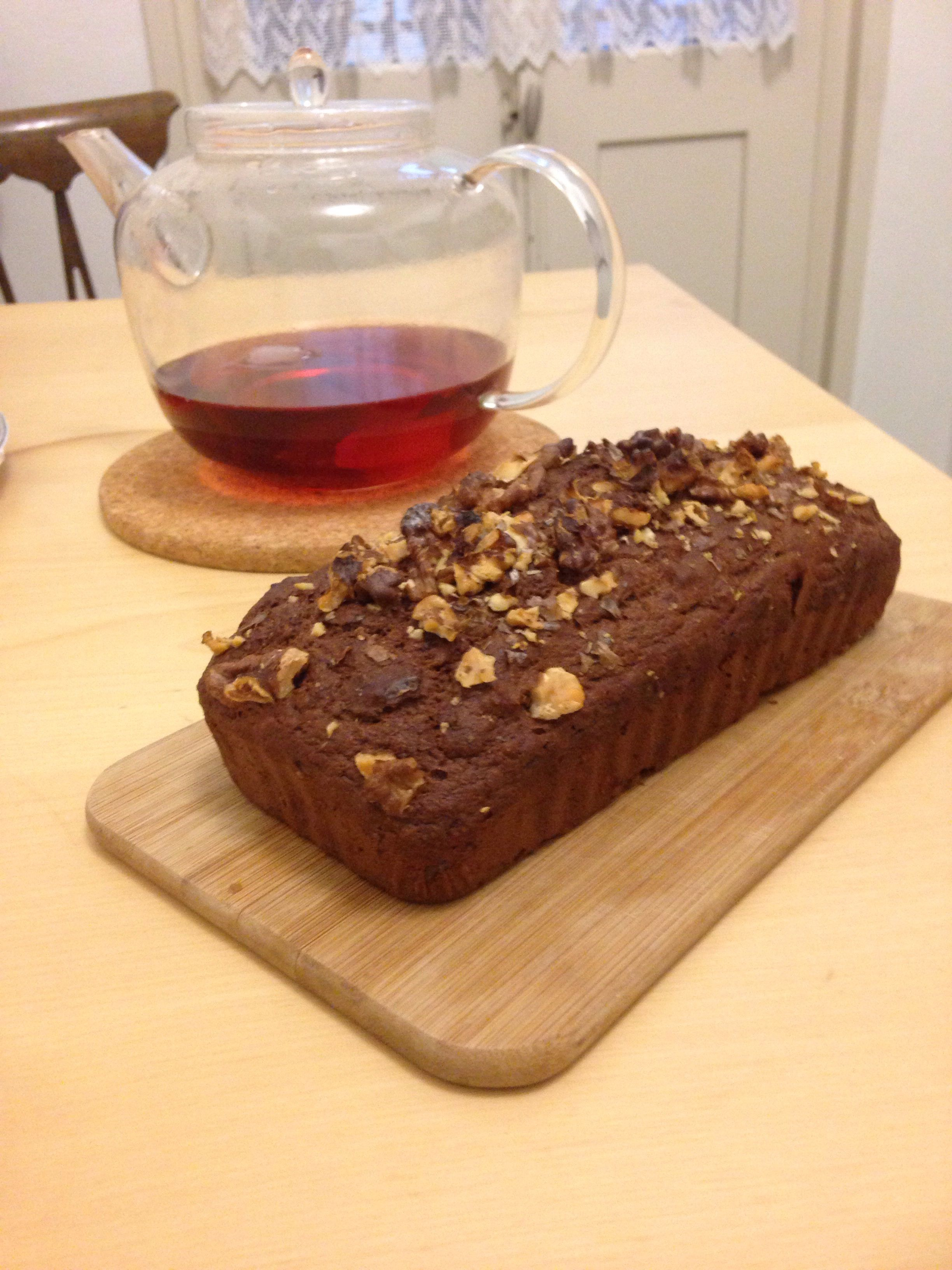 Healthy banana bread made using bbc good food recipe i swapped the healthy banana bread made using bbc good food recipe i swapped the syrup for nutella but you could hardly taste it still banana breadm forumfinder Gallery