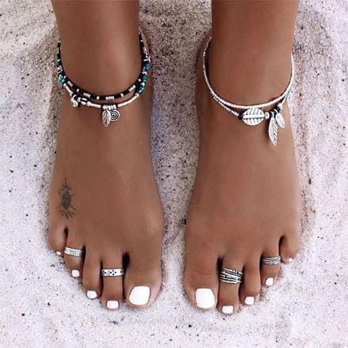 25 pares de anillos para los pies que se sienten elegantes sin esfuerzo – joyas – joyas