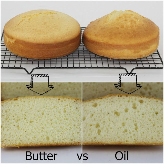 Melted Butter Instead Of Oil In Cake Mix