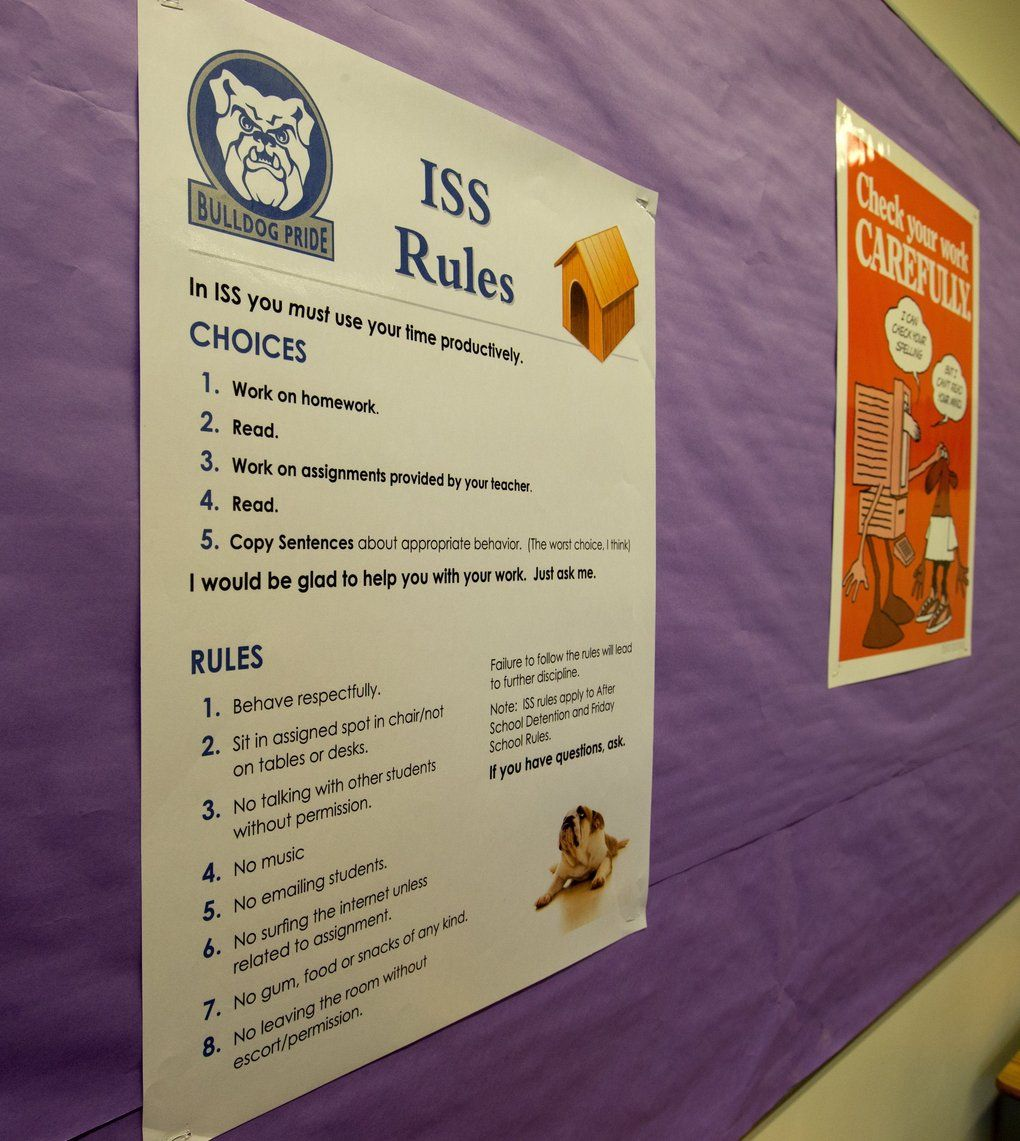 Image result for in school suspension rules   In school ...
