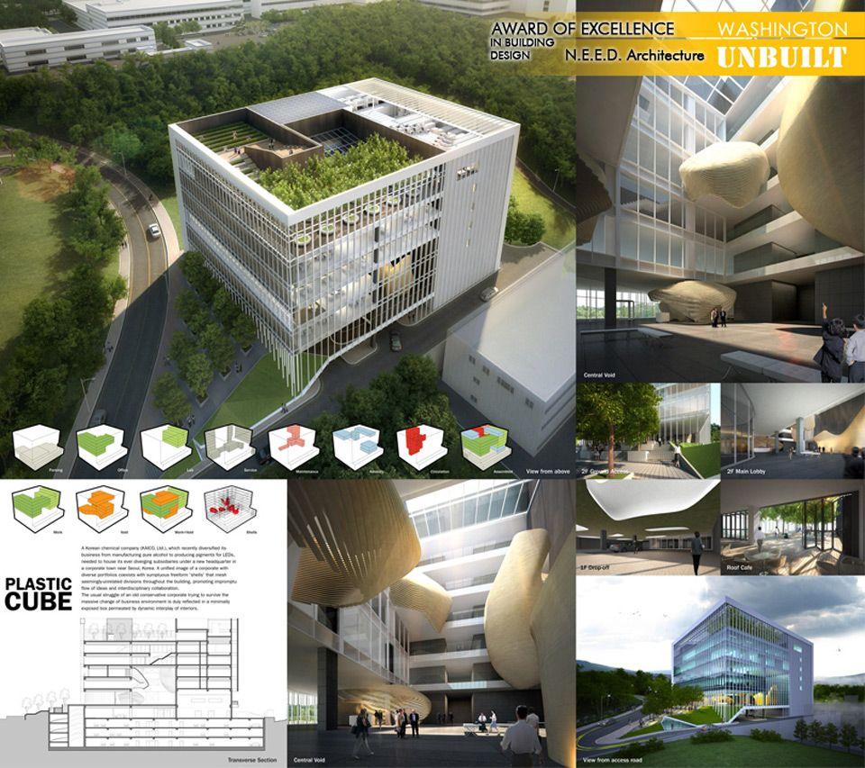 Aia Dc Unbuilt Awards Winners Architectural Presentation