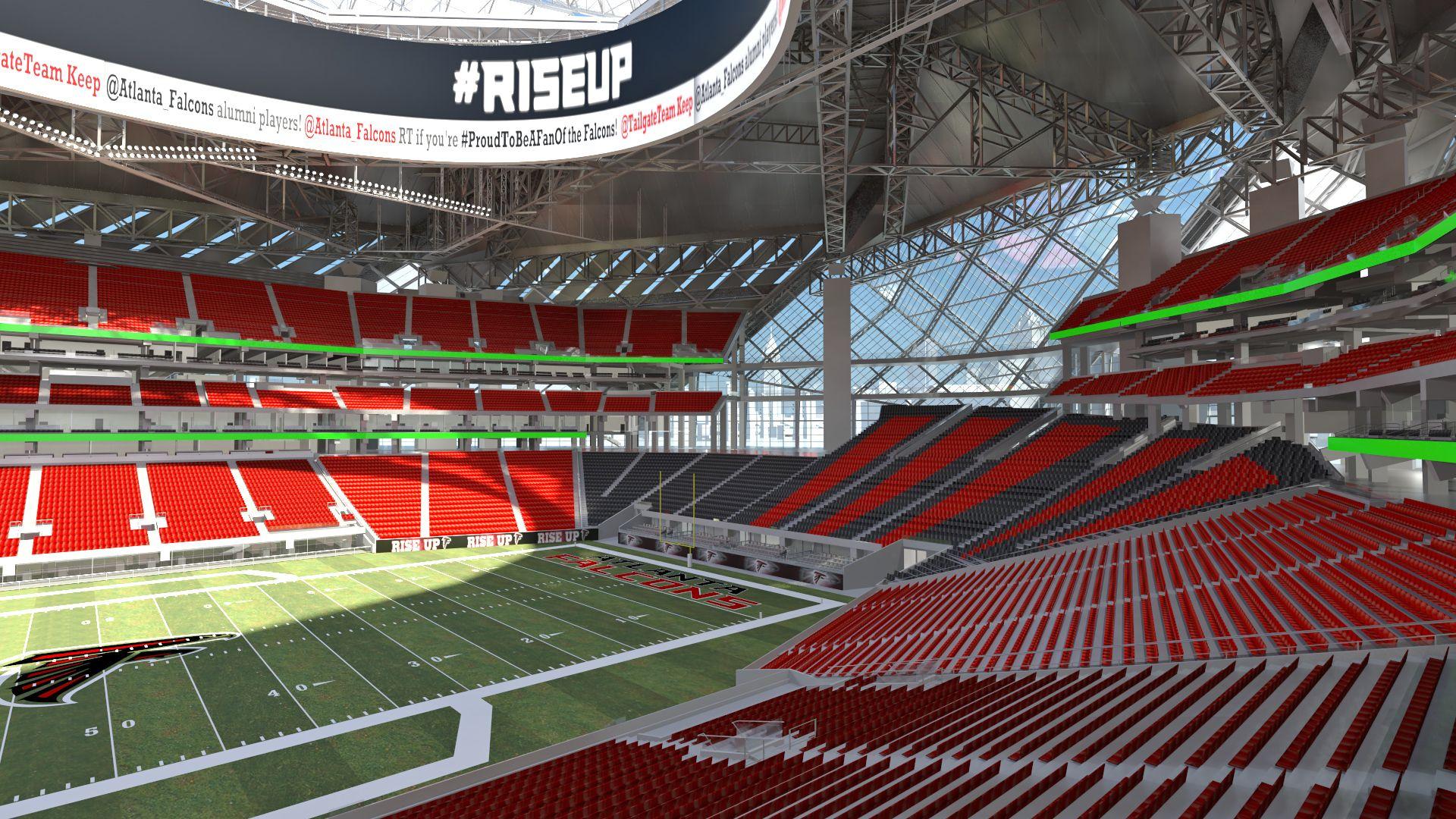 New Atlanta Stadium New Atlanta Stadium Atlanta Falcons Stadium