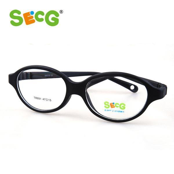 Optical Myopia Children Glasses Frame Plastic Titanium Unisex