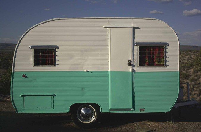 Travel Trailers For Sale Near Me >> 1950's Vintage Camper Trailer | Vintage trailers | Vintage trailers for sale, Vintage trailers ...