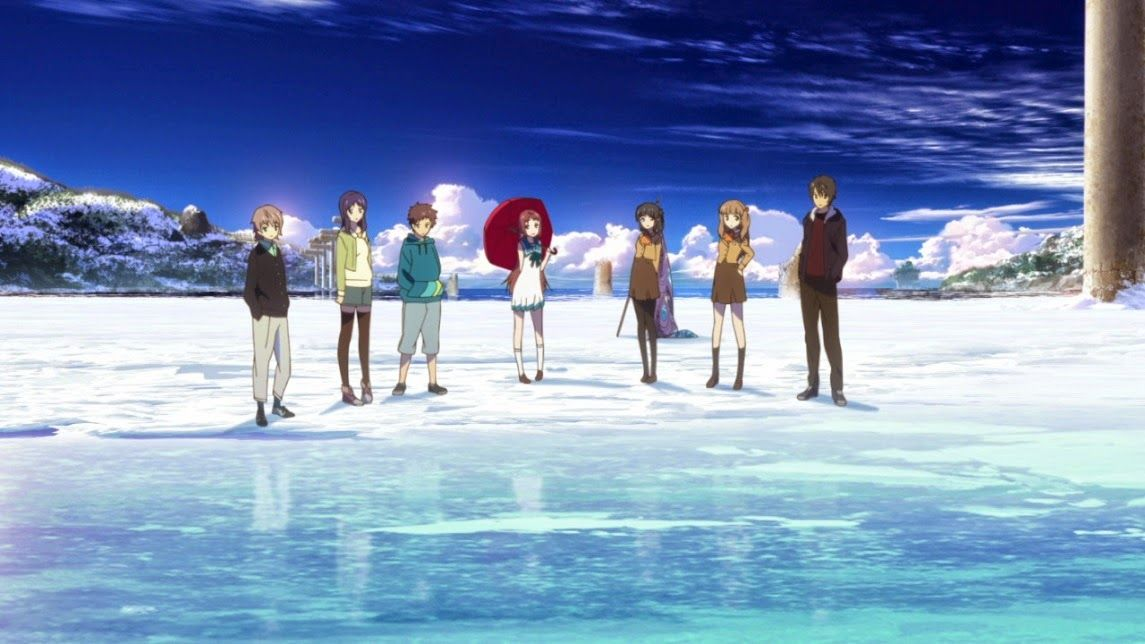Day 16 Anime With The Best Animation Nagi No Asukara Is Amazingly Well Done And Art Style Beautiful
