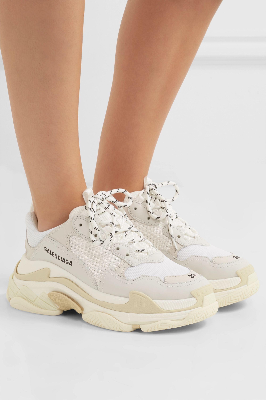 tan balenciaga sneakers