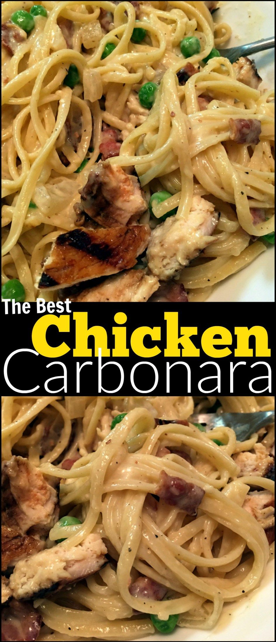 Chicken Carbonara | Aunt Bee\'s Recipes | kaNOODLEing | Pinterest ...