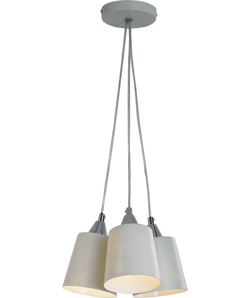 Buy Inspire Cluster 3 Light Metal Ceiling Light - Cream at Argos.co.uk - Your Online Shop for Ceiling and wall lights.