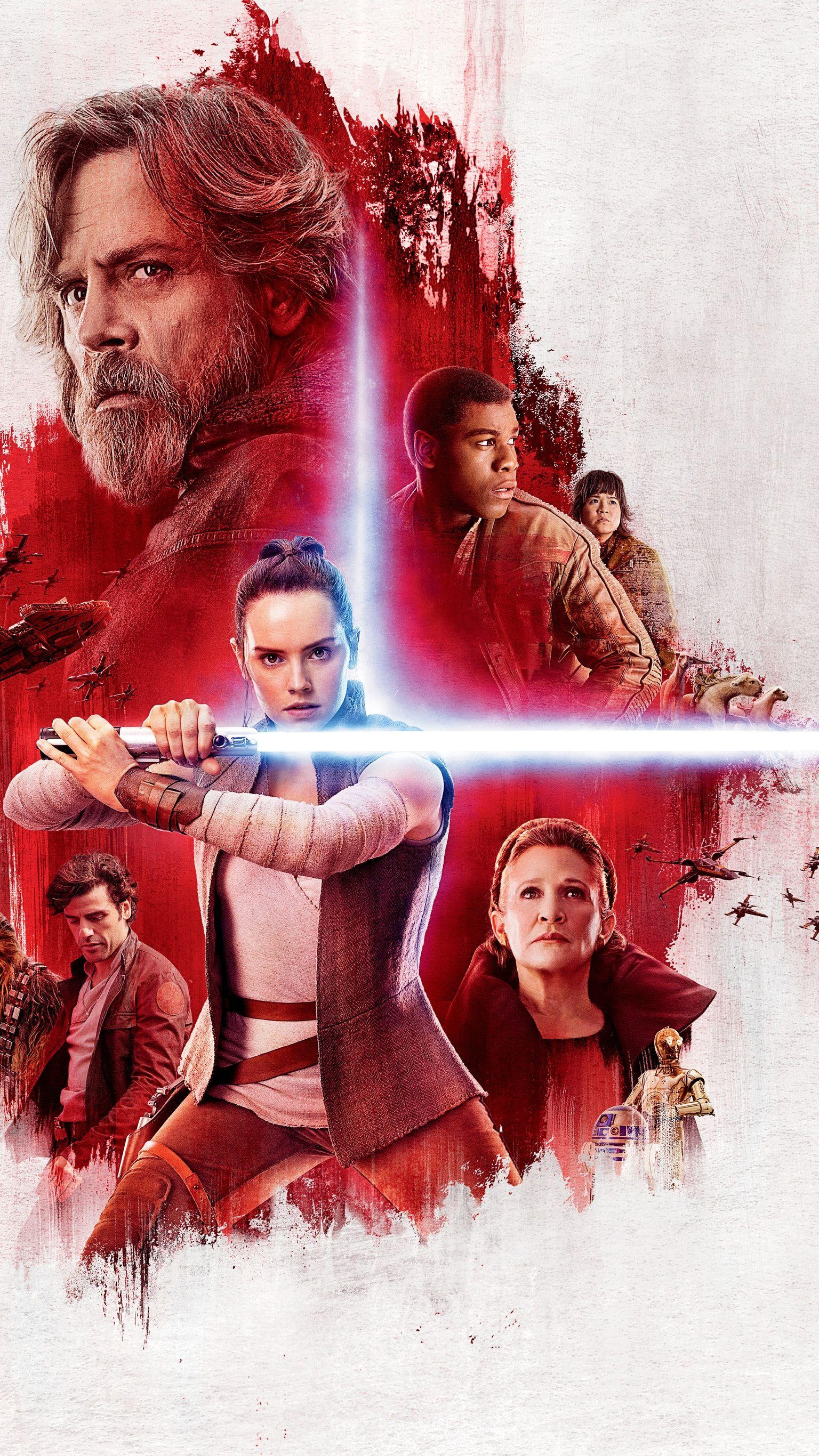 Star Wars The Last Jedi 2017 Phone Wallpaper Star Wars Poster