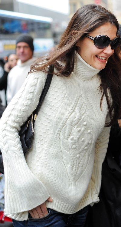 Katie's sweater style ♥✤ | Keep the Glamour | BeStayBeautiful