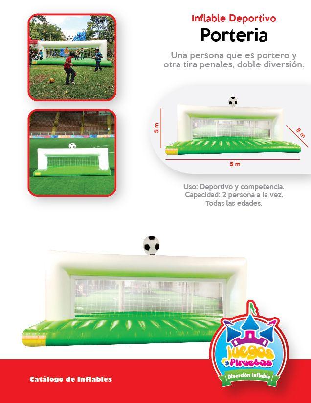 Inflable Y Juego Deportivo Porteria Ninos Y Adultos Costa Rica Http Www Juegosypiruetas Com Inflables Deportivos C1lr4