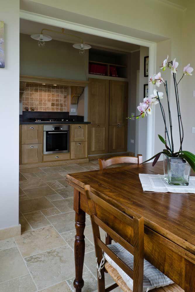 Küchenboden aus Travertin | House / KITCHEN | Pinterest | Kitchens ...