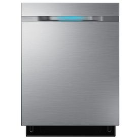 Samsung 44 Decibel Built In Dishwasher Stainless Steel Common 24 In Actual 24 In Energy Star Steel Tub