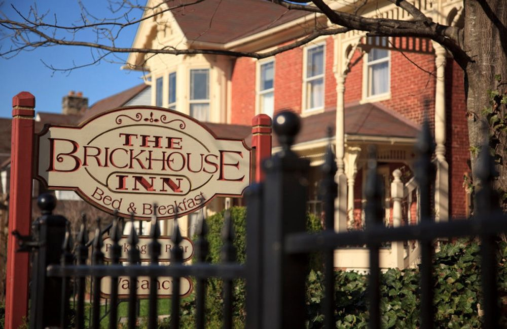The Brickhouse Inn consists of two historic buildings in