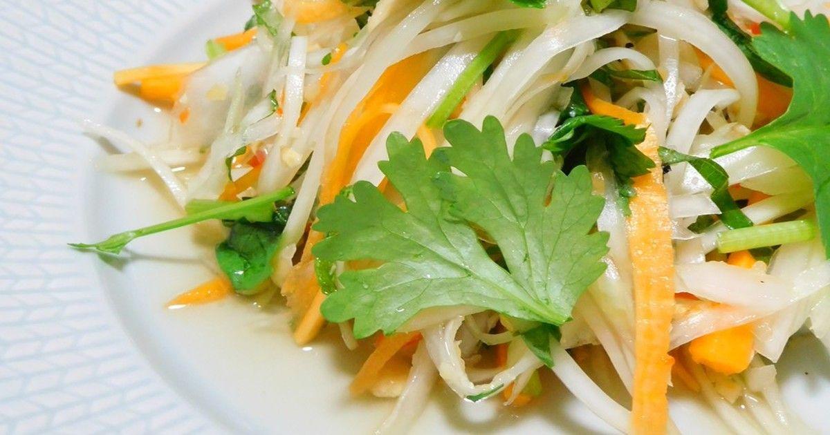 ベトナム風 青パパイヤのサラダ by フォレストヒル レシピ レシピ 料理 レシピ 青パパイヤ
