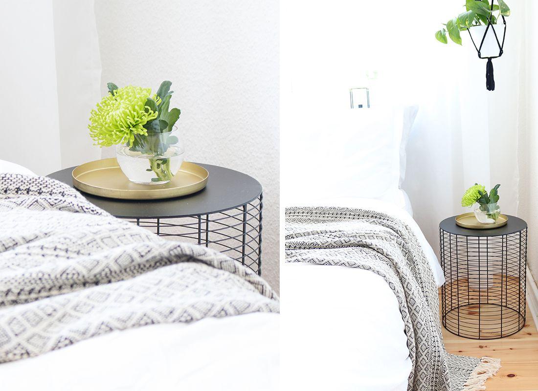 Bedroom Inspiration | Beistelltisch Draht Metall | Depot ...