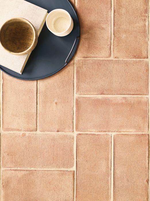 Handmade Terracotta Pale 14x29 Terracotta Tiles Bathroom Terracotta Floor Terracotta