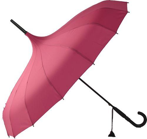 Plain Pink Pagoda [BCSPPAPI] : Wholesale Umbrellas, Galleria Umbrellas, UK Bulk Importer and Distributor - Blooming Brollies, Wholesale and bulk umbrellas for sale. Trade discounts for our range of Galleria, Bugzz Kids, Harold Feinstein and Fifi Umbrellas