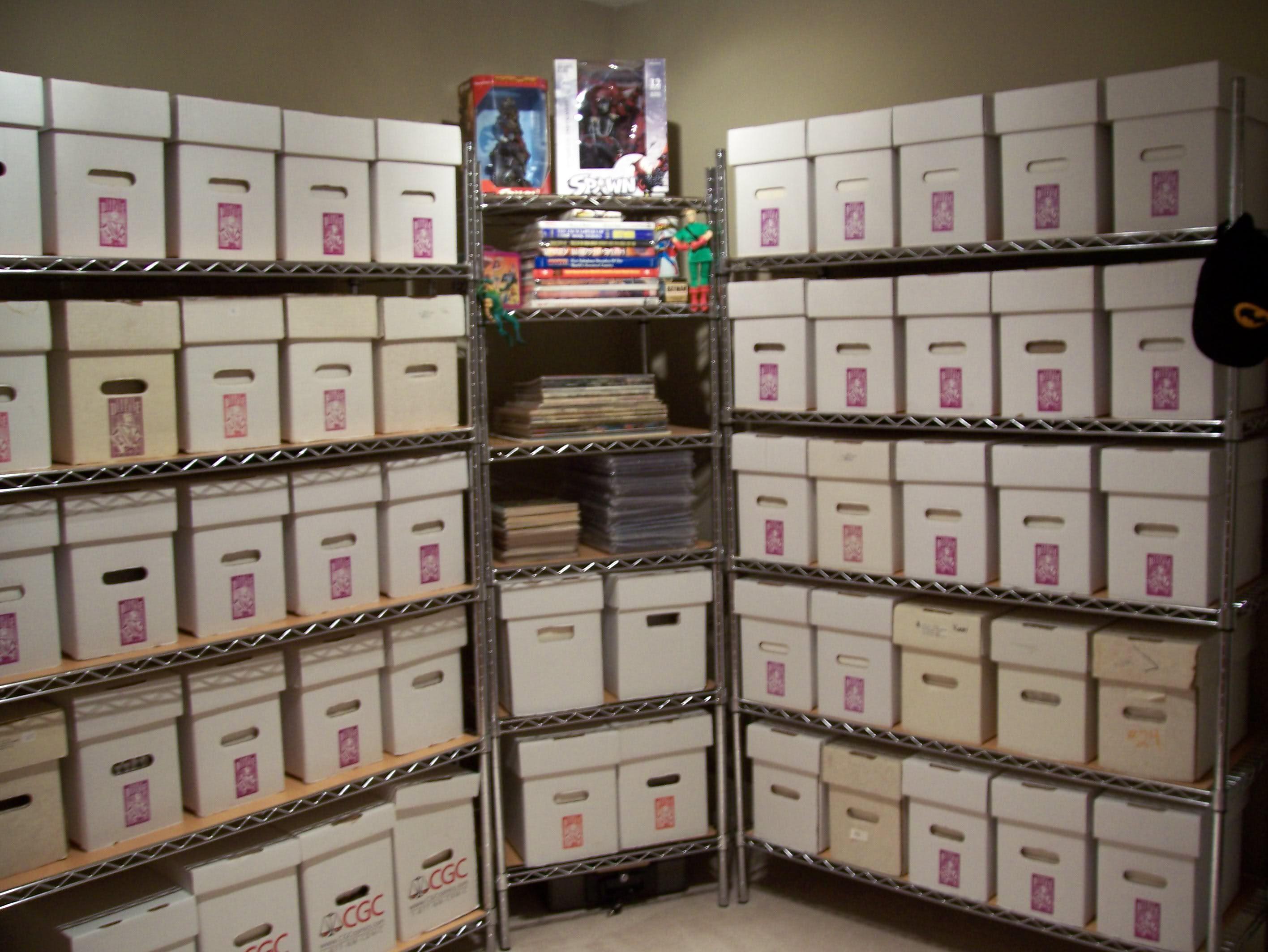 Comic Book Shelves  Comic Book Storage Ideas  Comic book