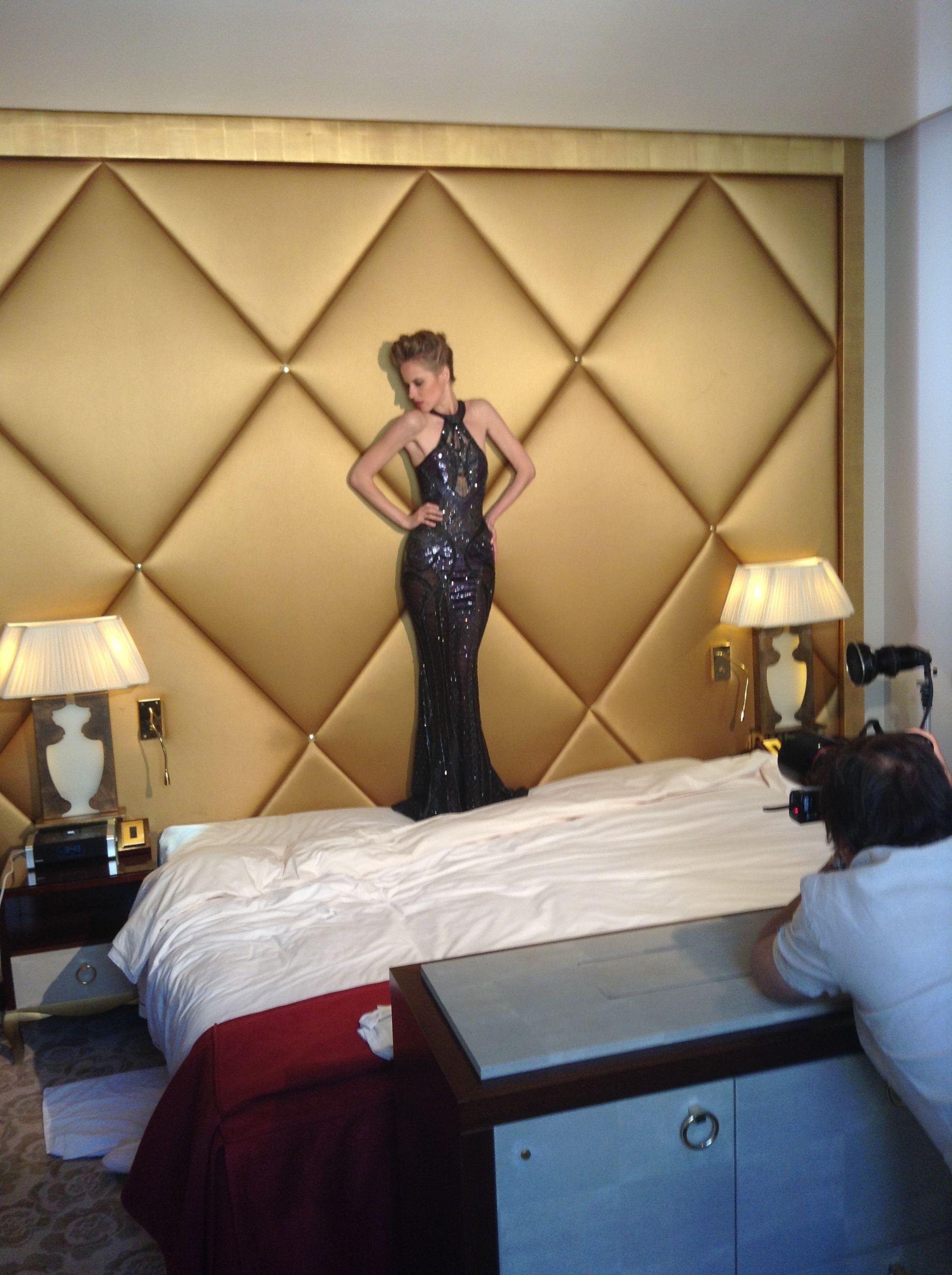 Atelier Versace haute couture FW 2013-14 Hôtel Fouquet' s Barrière