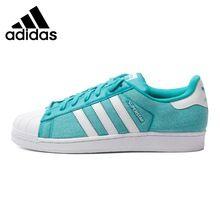 60557f91218 Original de la Nueva Llegada 2016 Adidas Originals Superstar hombres Low  top Zapatos de Skate Zapatillas de Deporte(China (Mainland))