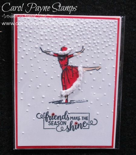 Stampin' Up! Beautiful You Mrs. Clause! #diy #diycrafts #christmas #christmascrafts #handmade #christmascards #papercrafts #paperart #scrapbooking #stampinup #carolpaynestamps #diychristmasgifts
