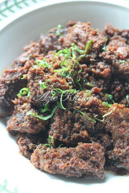 Azie Kitchen Rendang Daging Sedap Giler Beef Recipes Cooking Recipes Malay Food