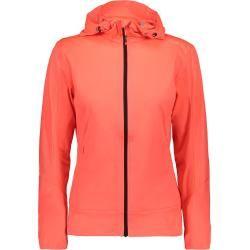 Photo of Cmp Ladies Softshell Hoodie Jacket (Size Xs, Red) | Softshell jackets> Women F.lli Campagnolof.lli Cam