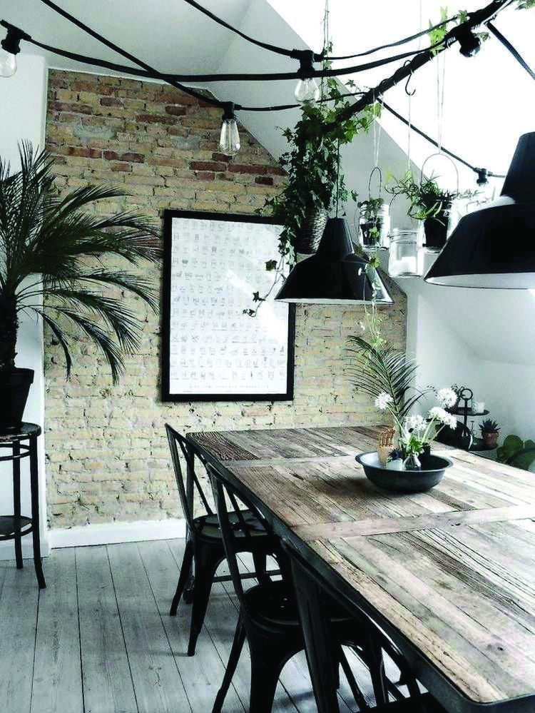 Get Stylish With These Industrial Dining Room Ideas Dining Room Industrial Modern Living Room Lighting Home Decor