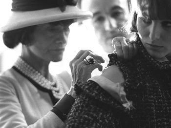 Coco launched the famous Chanel suit in 1923.