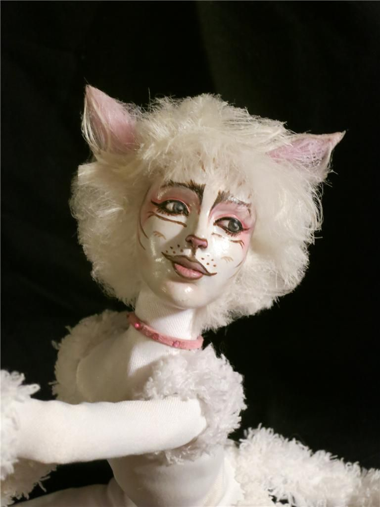"""""""Victoria"""" from CATS the Musical. I own this awesome doll"""