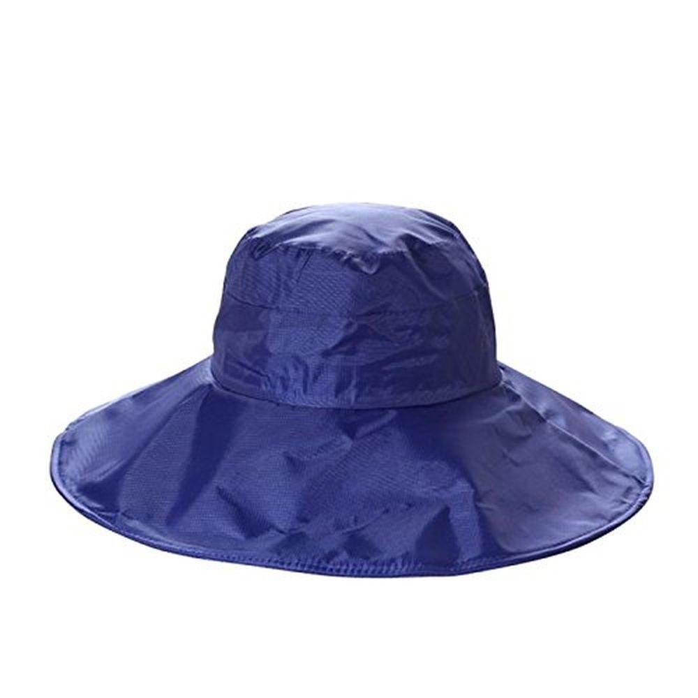 e5a1fdf44af92 Women s Rain Hats Waterproof Rain Hat Wide Brim Bucket Hat Rain Cap Sun Hats   ChicQueen