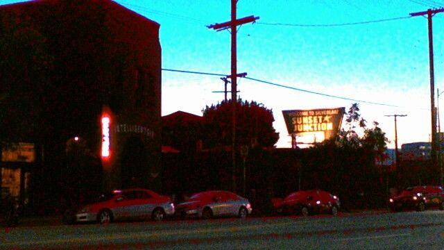#Intelligentsia #café #streetscene #streetscape #nightscape #night_view #nightview #Sunset_Junction #SunsetJunction #Los_Angeles #LosAngeles #LA #cityscape #SilverLake #Silver_Lake #California